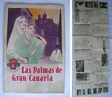 Folleto turismo plano - Advertising map brochure : LAS PALMAS DE GRAN CANARIA