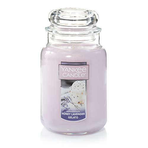 Yankee Candle Large Jar Honey Lavender Gelato