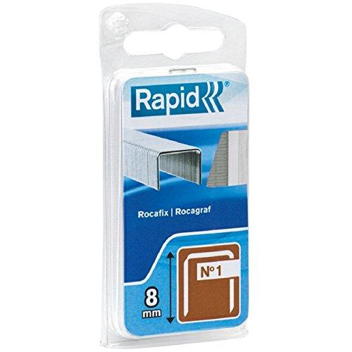 Agrafe n°1 Rapid Agraf - Hauteur 10 mm - 860 agrafes