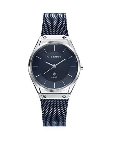 Viceroy Damen Analog Quarz Uhr mit Edelstahl Armband 42314-37
