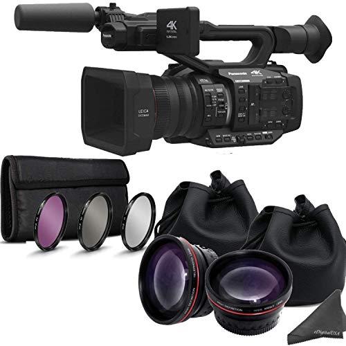 Review Panasonic AG UX180 4K Premium Professional Camcorder with Dual Lens Enhancement Bundle