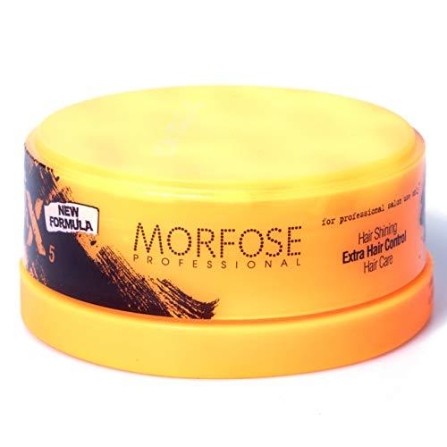 Morfose New Generation Aqua Gelwax 150ml Nr.5 Extra Shinning Haarwachs Hair Gel Wax Haar Styling Wachs Wet Look