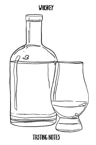 Whiskey Tasting Notes: Das perfekte Notizbuch für jeden edlen Tropfen