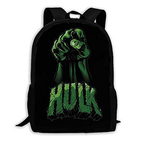 Hulk Fist 12 Inch Mini Backpack Travel Bookbag for Girl Boy Cram School Weekend Holiday