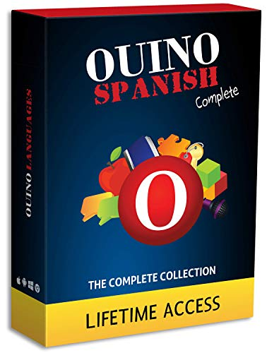 Learn Spanish with OUINO: New Improved Edition v4 | Lifetime Access (for PC, Mac, iOS, Android, Chromebook)