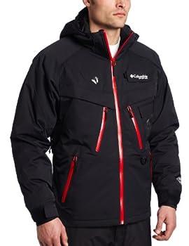 Columbia Men s Omni Heat Electric Squall Line I/C Jacket  Black X-Large