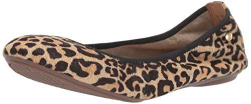 Hush Puppies Chaste, Zapatos Tipo Ballet para Mujer, Cabello de Piel de Leopardo, 43 EU