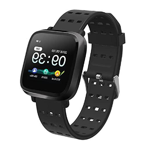 Ydh Y8 IP67 impermeable cuadrado reloj inteligente soporte pulsera rastreador de actividad física para Smartwatch Accesorios