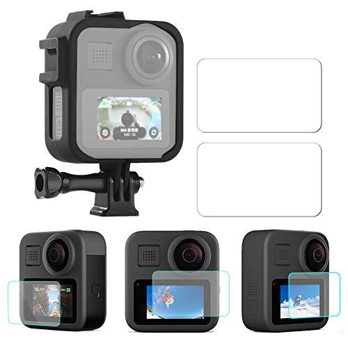 Cadre de Protection de caméra de Sport Super Dureté 9H, pour écran de caméra Gopro Max, pour caméra