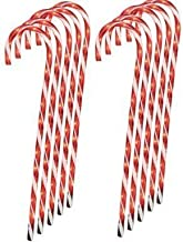 NTD 12 Lighted Candy Cane Pathway Markers (28