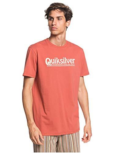 Quiksilver™ New Slang - T-Shirt - Homme - L - Rose