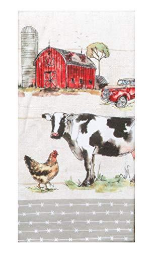 Kay Dee Designs Country Life Dual Purpose Dish Towel, 16 x 26, Various