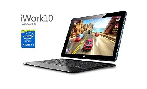 petit un compact Tablette PC convertible hybride 2 en 1 iwork10 i15T Ultrabook Flagship 64 Go IPS HD Screen 10.1…