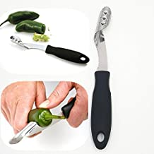 Barbecue Stainless Chili Pepper Corer Jalapeno Corer Pepper Corer Kitchen Cooking Tools