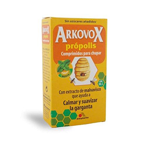 Arkovox Própolis + Vit. C Garganta Menta 24 Comp.