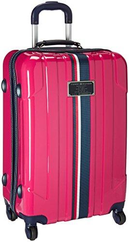Tommy Hilfiger Lochwood Hardside Spinner Luggage, Pink, 24 Inch