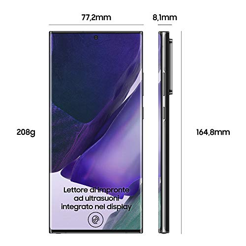 Samsung Galaxy Note20 Ultra 5G Smartphone, Display 6.9