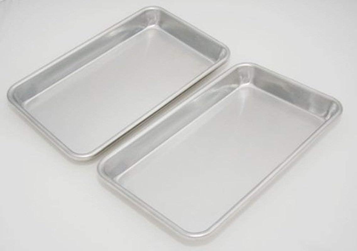 Libertyware Mini Sheet Pans Set Of 4 10 X 6 X 1 25 4 Pack Aluminum