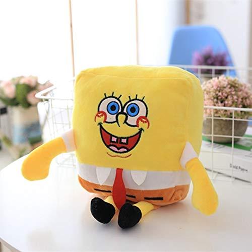 N / A Creativo Adorabile Spongebob Patrick Star Giocattoli di Peluche Peluche ripiene Cartoon Anime Dolls per Bambini Ragazze Regali di Compleanno Divano Decor 30cm