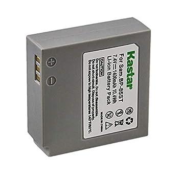 Kastar Battery for Samsung IA-BP85ST SC-HMX10 SC-MX20 VP-MX10 SMX-F30 SMX-F33S MX-F34 VP-HMX10 VP-HMX20 VP-MX10 VP-MX20 VP-MX25 HMX-H100 HMX-H1000 HMX-H104 HMX-H105 HMX-H1052 HMX-H106 HMX-H1062 Camera