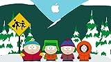 25inch x 14inch/62cm x 35cm South Park Silk Poster