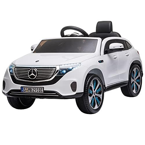 HOMCOM Voiture véhicule électrique Enfants 12 V - V. Max. 5 Km/h...