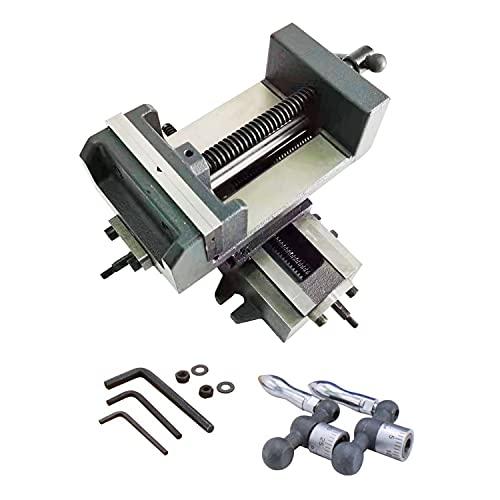 TEXALAN 4  Compound Cross Slide Industrial Strength Benchtop & Drill Press Vise
