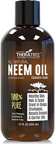 Neem Oil 12 Oz By Oleavine TheraTree