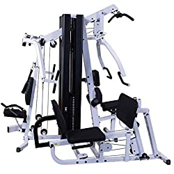 Body Solid EXM3000LPS Multi Station Selectorized Gym