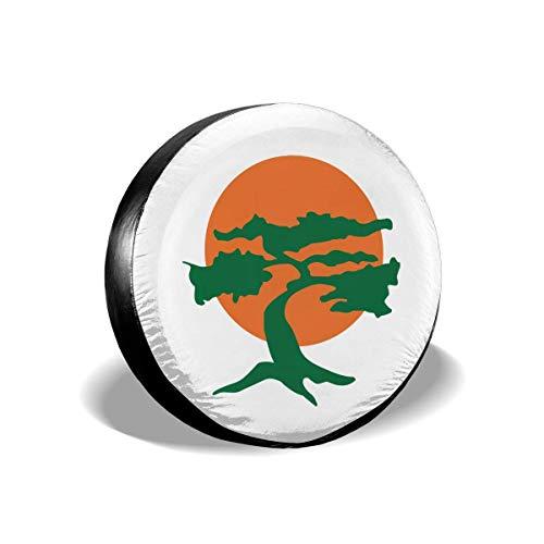 LLZQJ-DAA Miyagi Dojo Karate Band Cover Fit Jeep Truck SUV Ect 15inch Meerkleurig