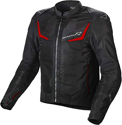 Macna Orcano Motorrad Textiljacke Dunkelgrau M