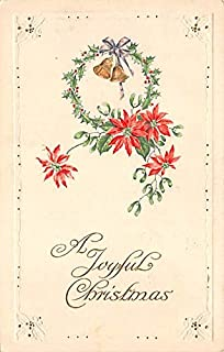 Christmas Post Card Old Xmas Postcard John Winsch Publishing 1922
