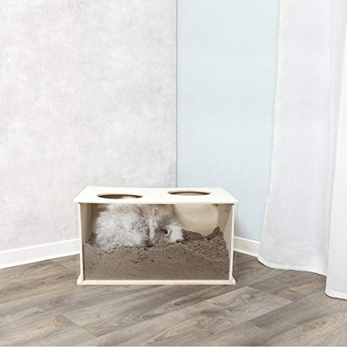 TRIXIE Madriguera para Conejos, 58 × 30 × 38 cm, Pequeños Mamíferos