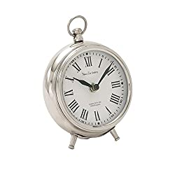 Deco 79 40688 Metal Table Clock