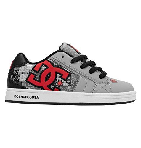 DC Net Se - K - Zapatillas de Skateboarding de Cuero Nobuck Unisex niños, Color, Talla 27 EU Júnior