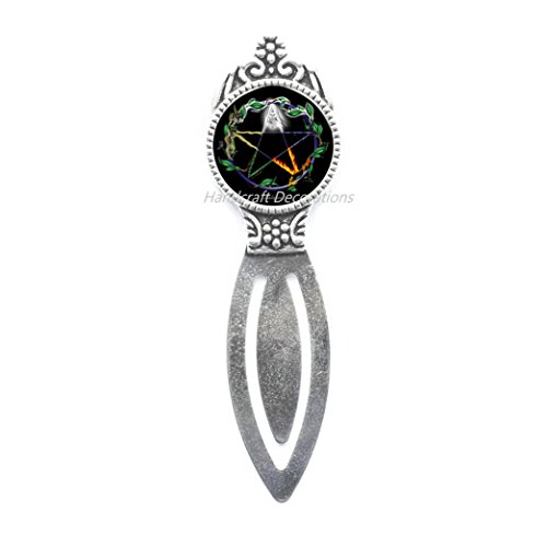 Pentagram Bookmark, Pentagram Jewellery,Pentacle Bookmark, Gift, Star Bookmark, Simple Star Bookmark,Bookmark Gift for her.F134 (E1)