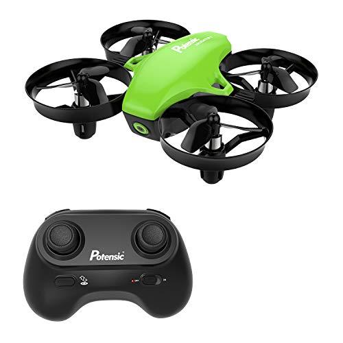 Potensic A20 Mini Drone avec Les Fonction sans tête, Altitude Tenir, Deux Boutons pour contrôler...
