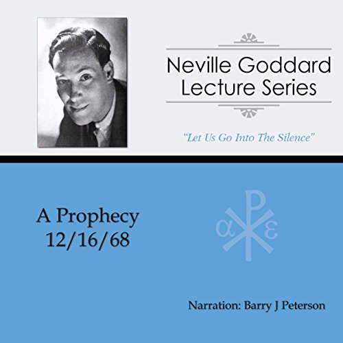A Prophecy audiobook cover art