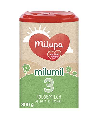 milumil Milupa 3 Folgemilch ab dem 10. Monat, 800 g