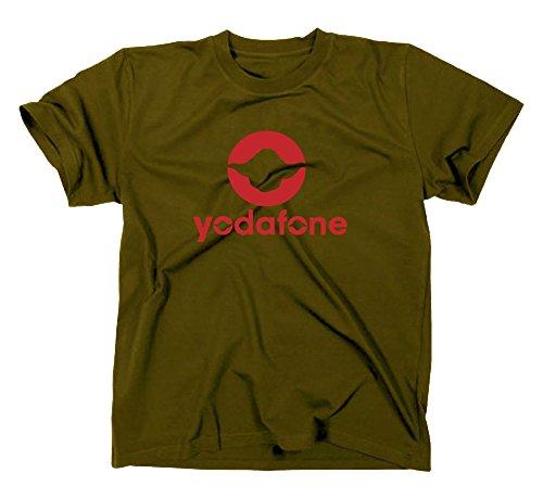 Yodafone Fun T-Shirt, star wars, jedi ritter, vodafone, Oliv, XXL
