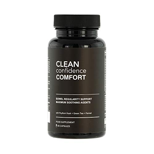 Clean Confidence Comfort Bowel Regularity Support - 60 Capsules - One Month Supply by ConfidentU
