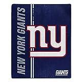 Northwest NFL New York Giants 50x60 Raschel Restructure DesignBlanket, Team Colors, One Size (1NFL070860081RET)