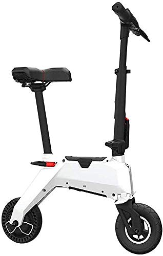 Portable Electric Scooter Adult, 350W Ultra-light Magnesium Alloy Body, Lightweight Electric Scooter For Men Women, 10-30 Km Durability, Short-distance Transportation Scoo LATT LIV