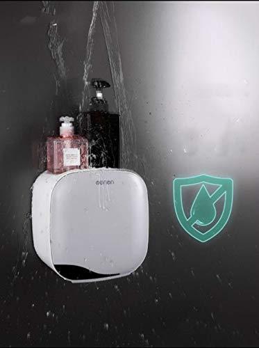 Grea Multi-Function Tissue Box Bathroom Storage Accessori Porta Carta igienica WC Rotolo di Carta Dispenser di Tessuti-Grigio Chiaro