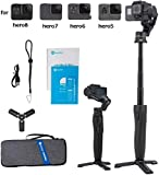 FeiyuTech Vimble 2A Selfie Stick 3- Axis Handheld Gimbal Stabilizer for GoPro Hero 8/7/6/5 Action Camera