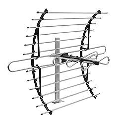 in budget affordable [2020 Version]  GE Loft TV Antenna Indoor long range directional antenna supports 4K …