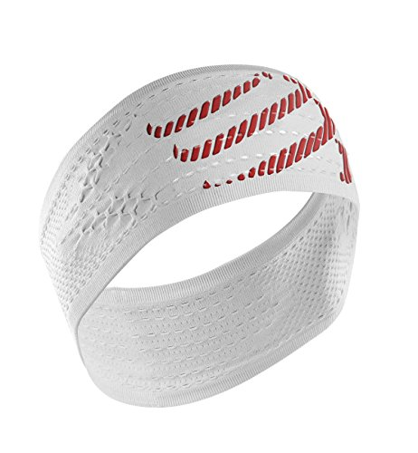 COMPRESSPORT Headband On/off Bandana On/off, Bianco