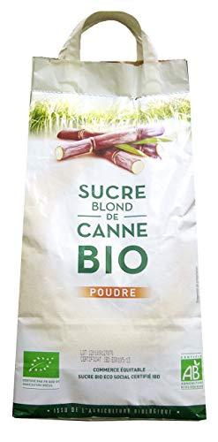 """Loiret Haëntjens Sucre Canne """"Blond"""" Équitable Ibd 5kg"""