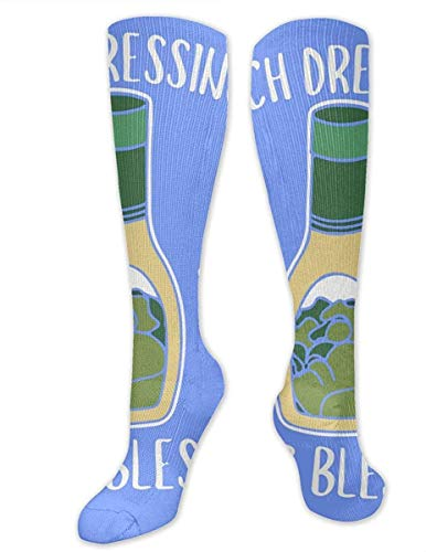 NA Ranch Dressing Salade Lekker Unisex Sport Over-De-Calf Lange Buis Kousen 19,7 inch