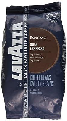 Lavazza Coffee Grand Espresso, Whole Beans, 1000g